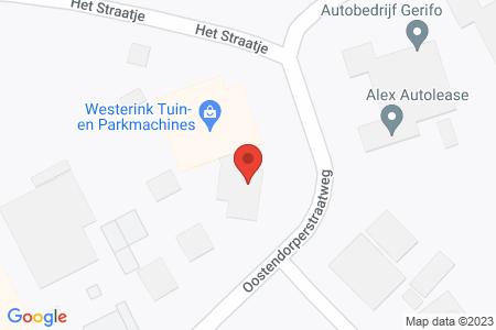 Kaart behorende bij: Oostendorperstraatweg 3B, 8081 RH Elburg - Termijnverlenging