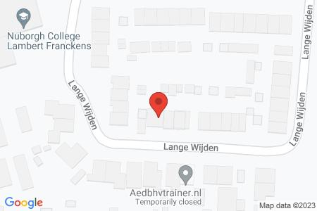 Kaart behorende bij: Lange Wijden 53, 8081 VG Elburg - Sloopmelding