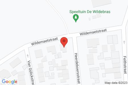 Kaart behorende bij: Heerdeboersstraat 13, 8081 AV Elburg