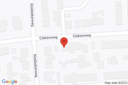 Kaart behorende bij: Clakenweg 91, 8081 LT Elburg - Sloopmelding