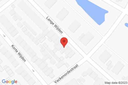 Kaart behorende bij: Lange Wijden 26, 8081 VT Elburg - Sloopmelding