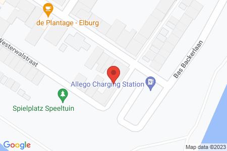 Kaart behorende bij: Zuiderwalstraat 1, 8081 CD Elburg - Termijnverlenging