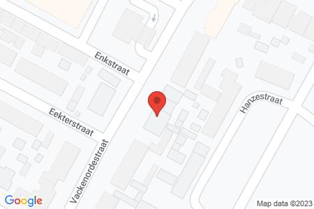 Kaart behorende bij: Vackenordestraat 58, 8081 TL Elburg
