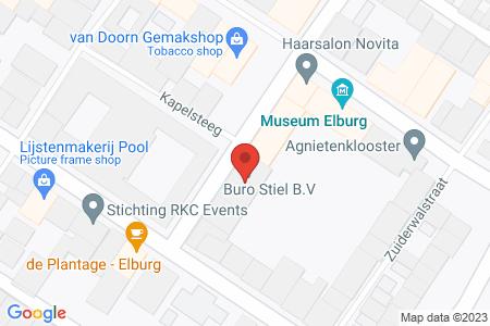 Kaart behorende bij: Ledige Stede 31, 8081 CS Elburg - Sloopmelding