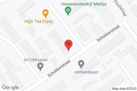 Kaart behorende bij: Schokkerstraat 151, 8081 KP Elburg