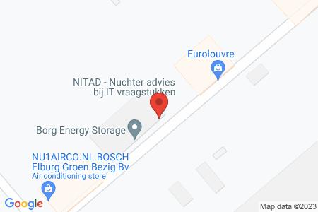 Kaart behorende bij: A. Vogelstraat 11, 8081 HD Elburg