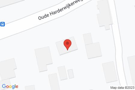 Kaart behorende bij: Oude Harderwijkerweg 54A, 8085 PH Doornspijk