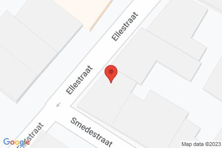 Kaart behorende bij: Ellestraat 47A, 8081 GD Elburg - Sloopmelding