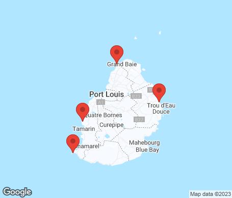 Karta - Mauritius