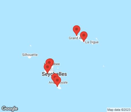 Kartta - Seychellit
