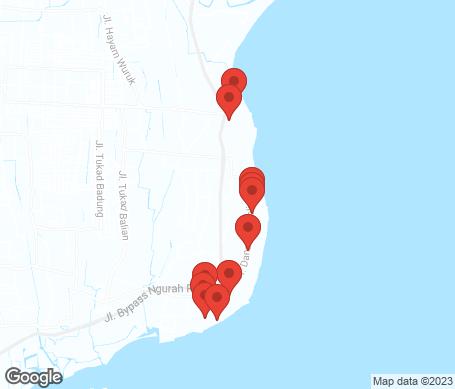 Karta - Sanur Beach