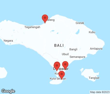Kartta - Bali