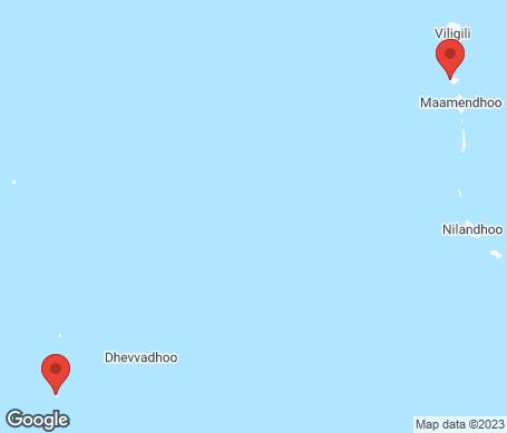 Kart - Gaafu Alifu Atoll