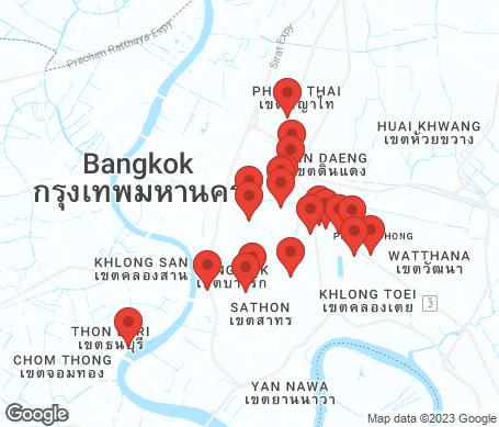 Kartta - Bangkok