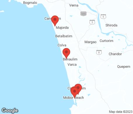 Kart - Sør-Goa