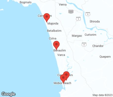 Kort - Sydlige Goa