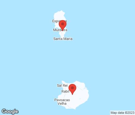 Kartta - Kap Verde