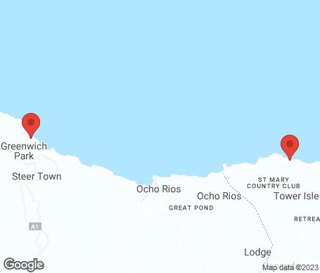 Karta - Ocho Rios