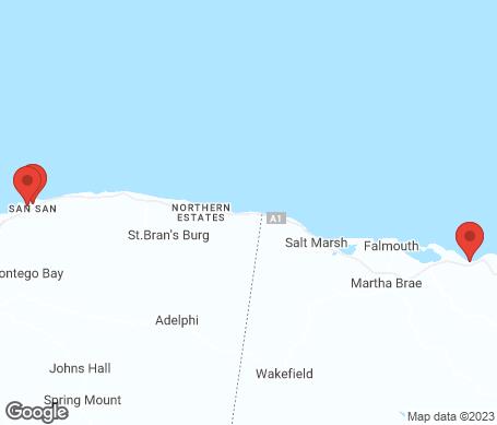 Karta - Montego Bay