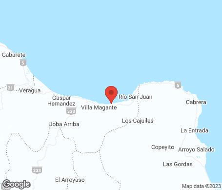 Kort - Rio San Juan