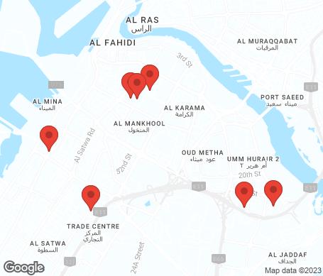 Kartta - Bur Dubai