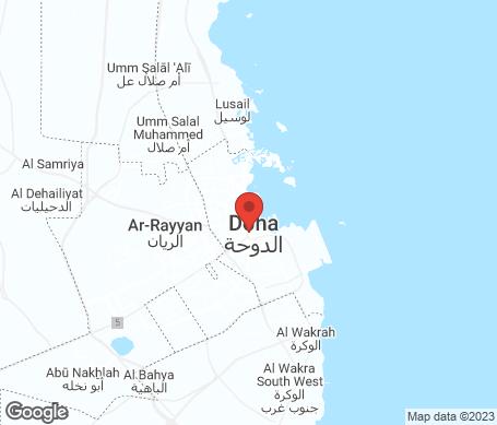 Kartta - Qatar