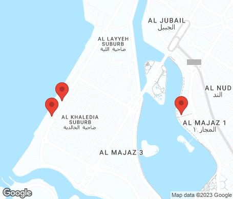 Kartta - Sharjah