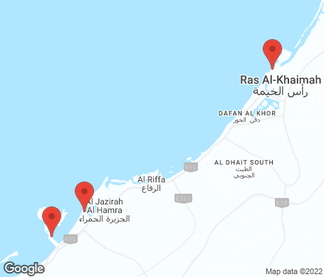 Kort - Ras al Khaimah