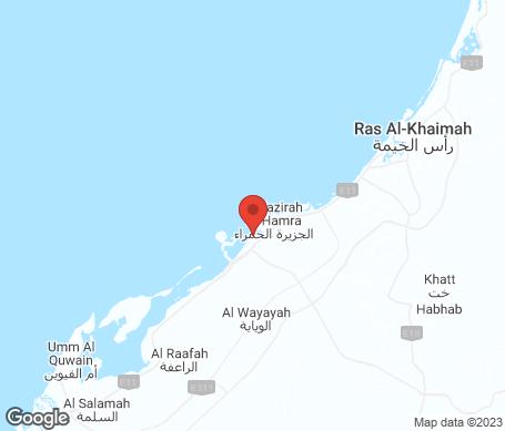 Kartta - Ras al Khaimah
