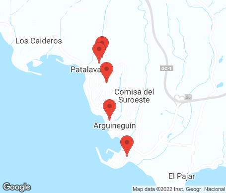 Karta - Arguineguin