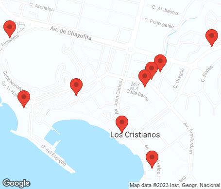 Kartta - Los Cristianos