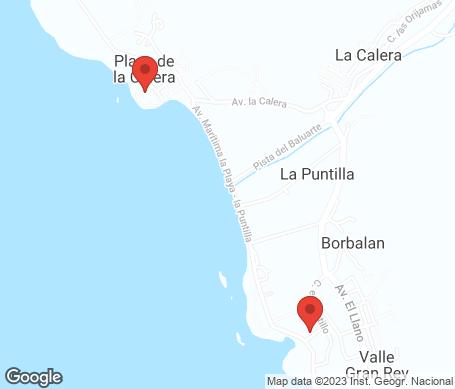 Kartta - Valle Gran Rey