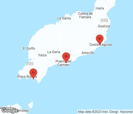 Kort - Lanzarote
