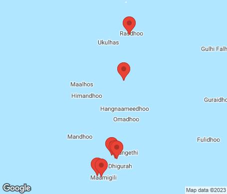 Karta - Ari Atoll