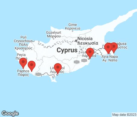 Kartta - Kypros
