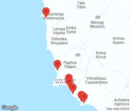 Karta - Pafos
