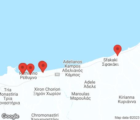 Kartta - Rethymnon