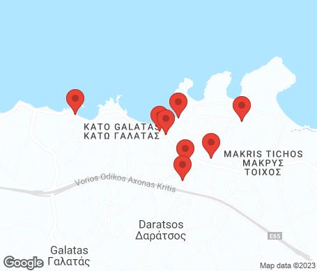 Kartta - Agii Apostoli