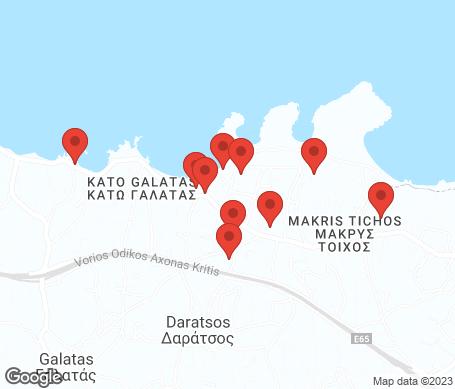 Kort - Agii Apostoli (Chaniakysten)