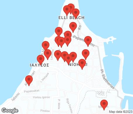 Kartta - Rodoksen kaupunki