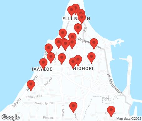 Karta - Rhodos stad