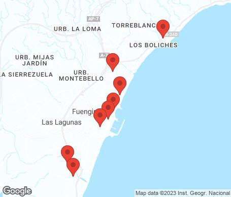 Kartta - Fuengirola