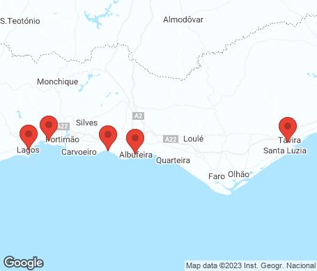 Karta - Algarve