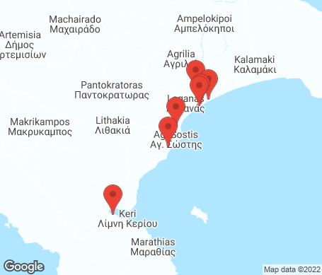 Kartta - Laganas