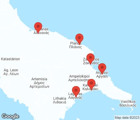 Kartta - Zakynthos