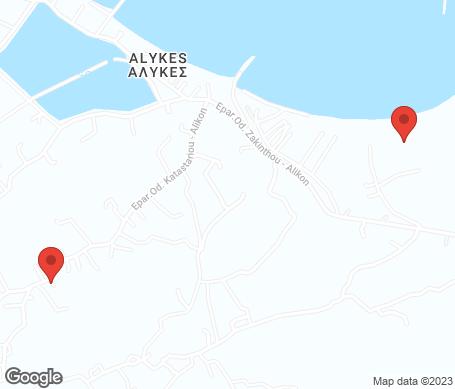 Kartta - Alykanas