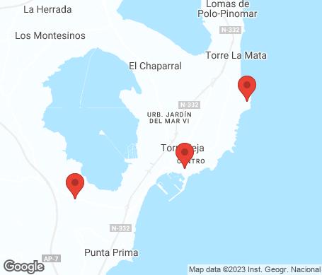 Kartta - Torrevieja