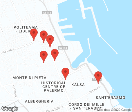 Karta - Palermo
