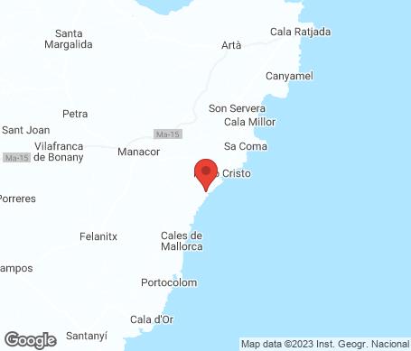 Karta - Porto Cristo