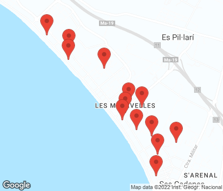 Karta - Playa de Palma